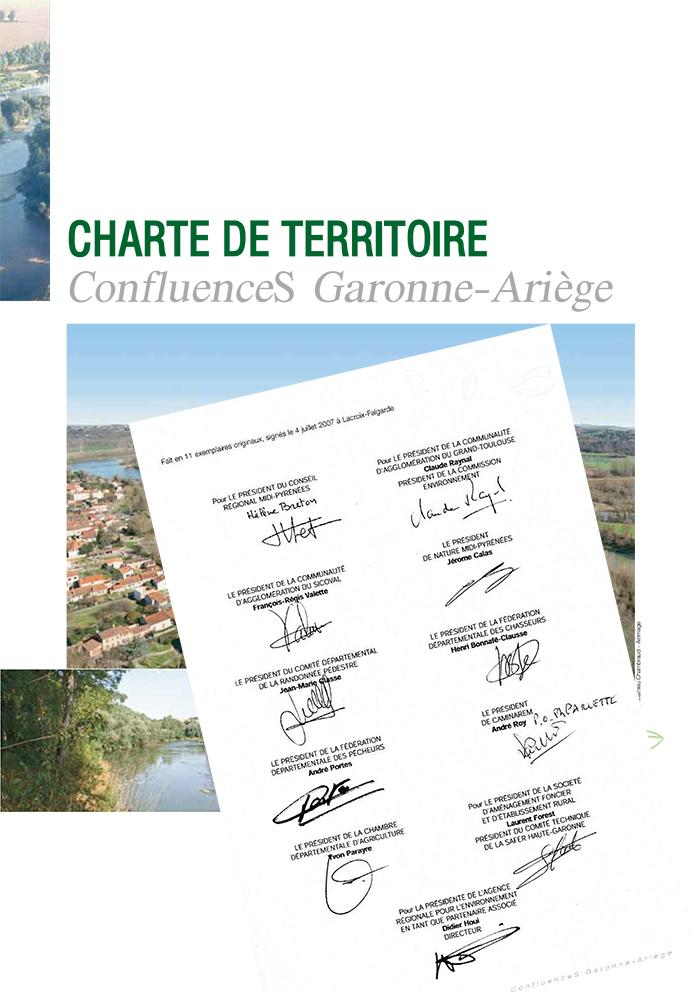 Consultez la Charte de territoire ConfluenceS Garonne-Ariège (pdf, 2Mo)
