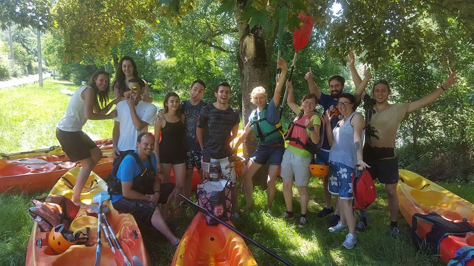 Retour en images sur la sortie kayak avec Venerque Eaux Vives