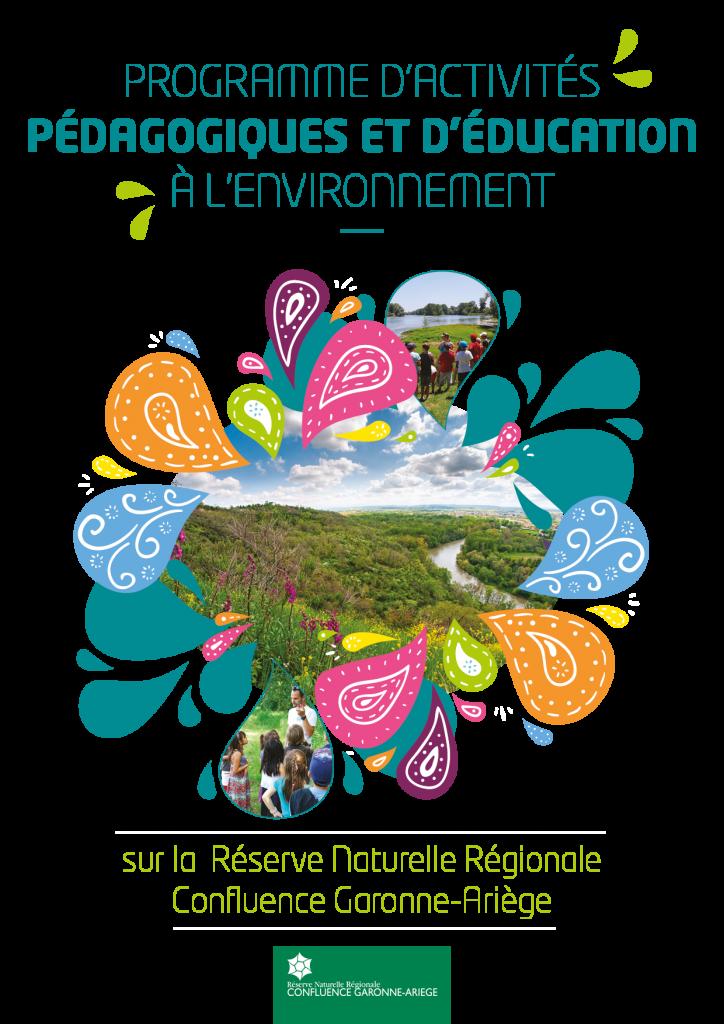 Consultez le programme d'activités pédagogiques et d'éducation à l'environnement (pdf, 1 Mo)