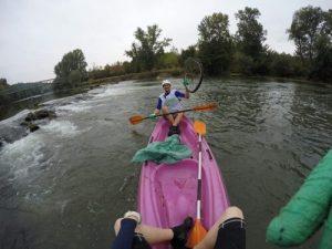 Opération Zéro déchet dans ma réserve, en kayak !