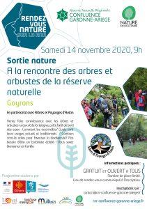 A la rencontre des arbres et arbustes de la réserve naturelle – GOYRANS