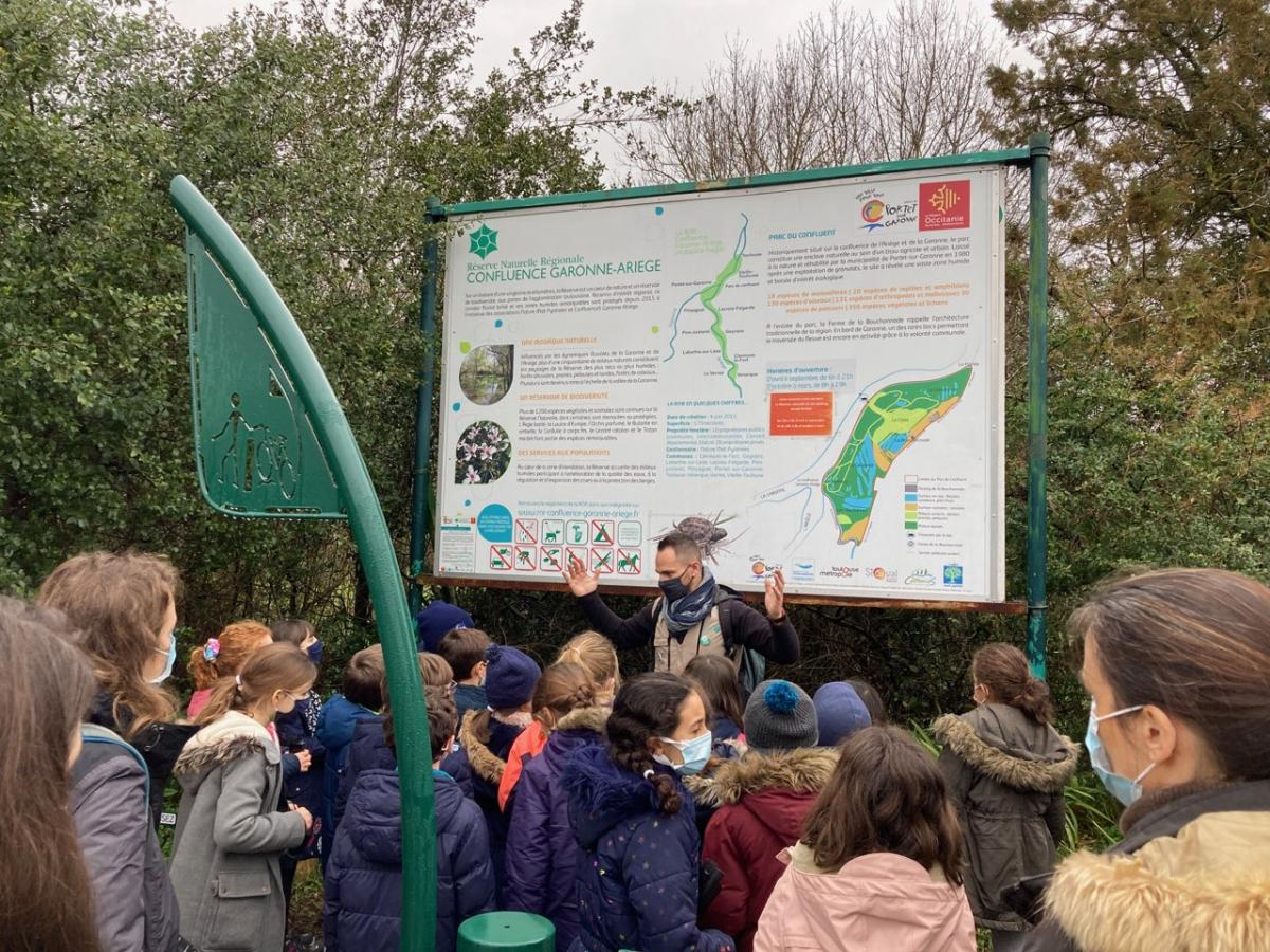 «Passeport pour l'Art» au Parc du Confluent